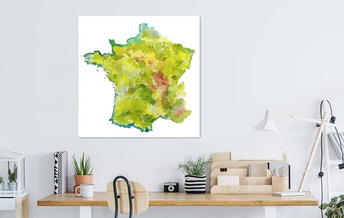 07 Frankrijk in Aquarel