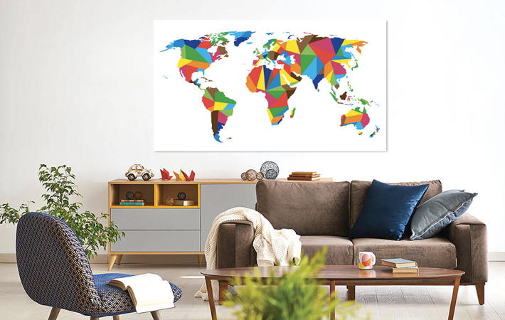 08 United Color Worldmap