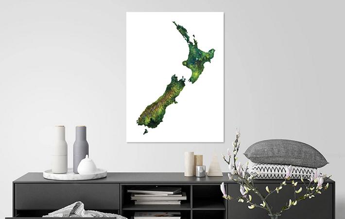 10 Nieuw Zeeland Aquarel