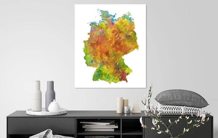 12 Duitsland Aquarel