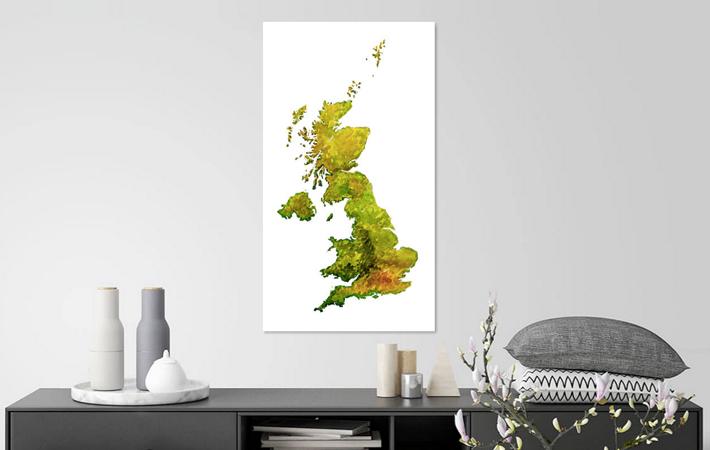 17 Groot Brittannie Aquarel