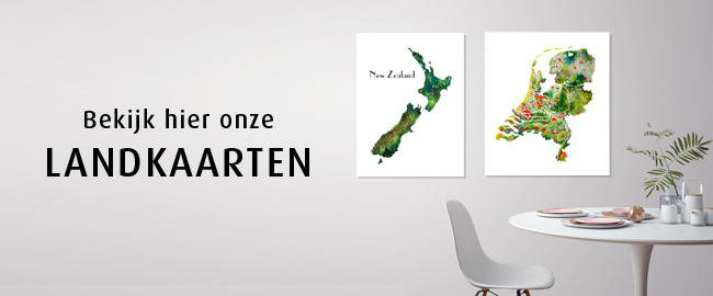 Landkaarten-Collectie