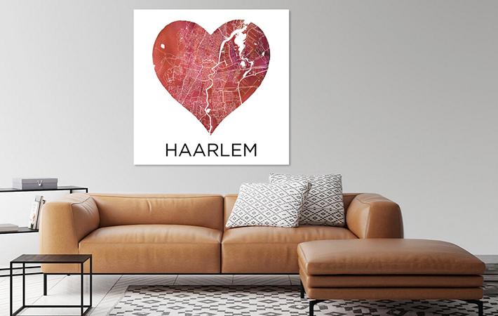 Haarlem in rode hart