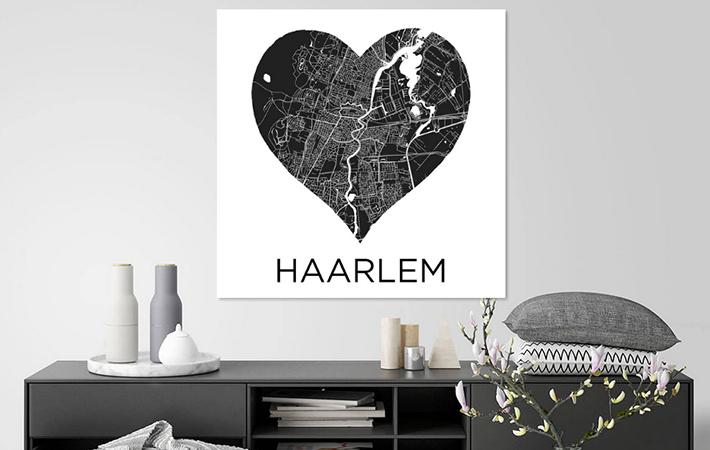 Haarlem in hart Zwartwit
