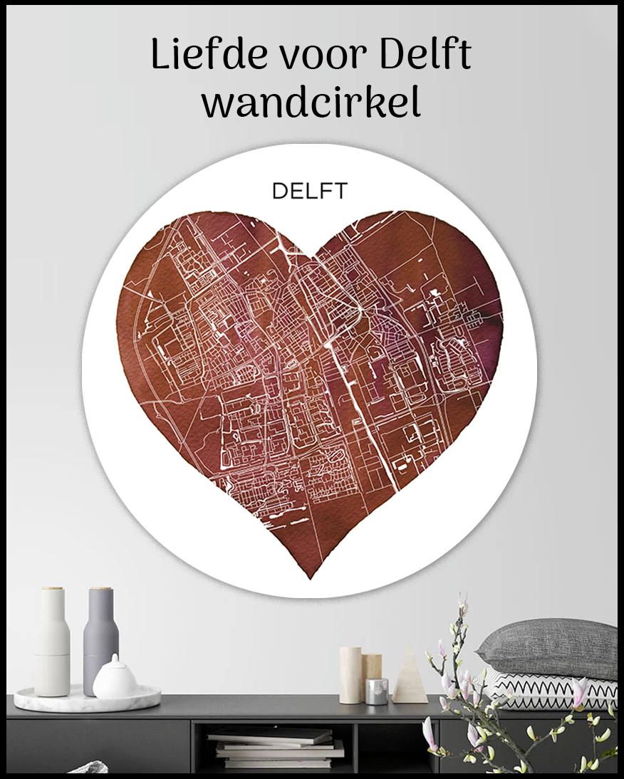 Wandcirkel Delft