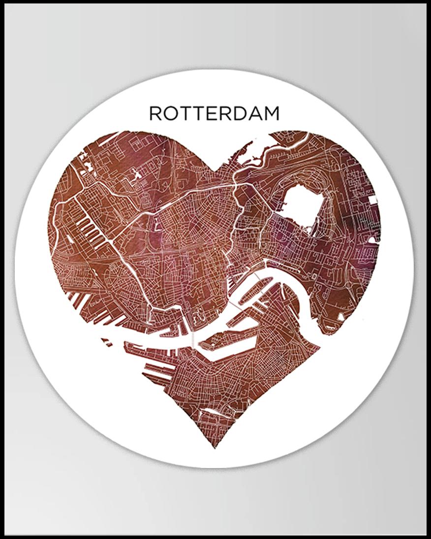 Wandcirkel Rotterdam Hover