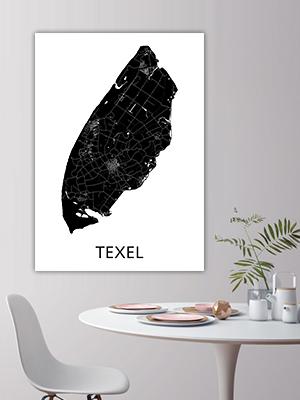 Button Landkaarten Texel