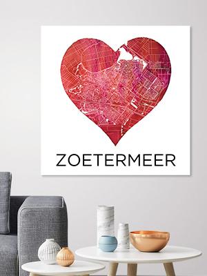 Button Stadskaarten Zmeer