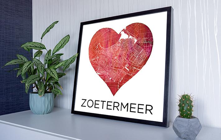 Zoetermeer - Liefde voor Zmeer op kastje