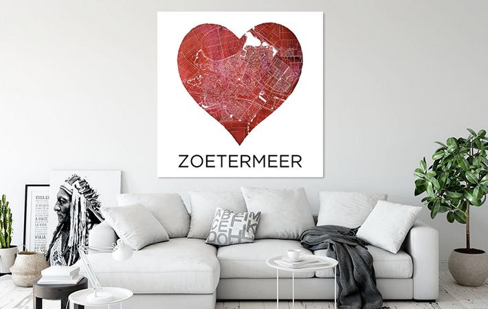 Zoetermeer - Liefde voor Zoetermeer Rood-new