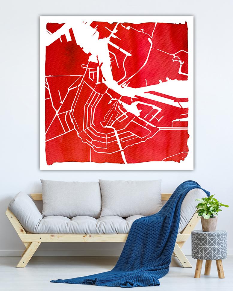 004 ADAM Waterkaart op Rode Aquarel_lr