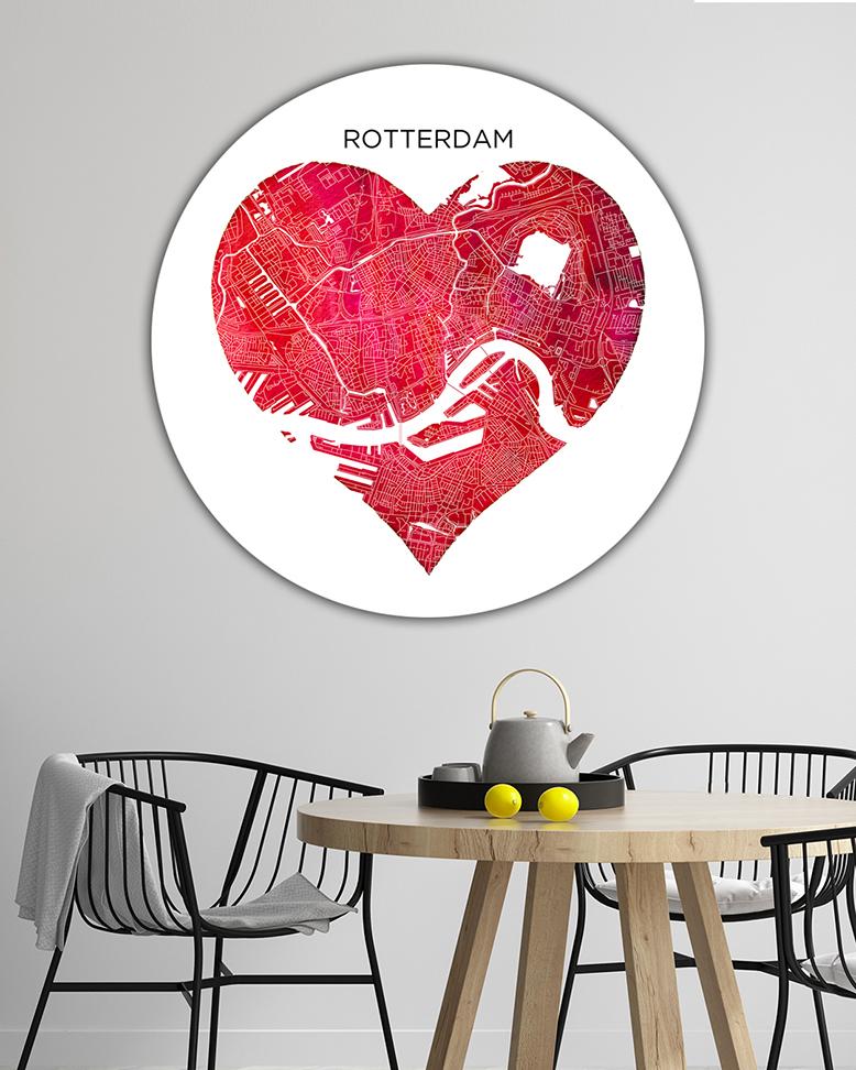 007-02 Rotterdam Rode Hart Wandcirkel_lr