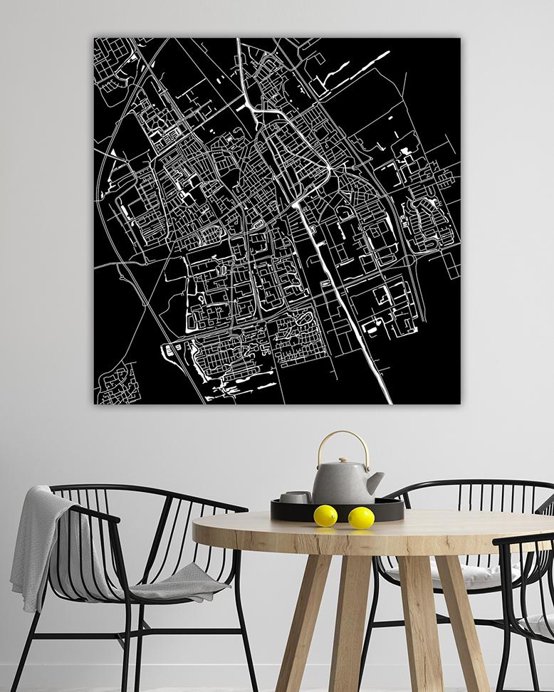 120-09 Delft Vierkant Zwartwit_lr