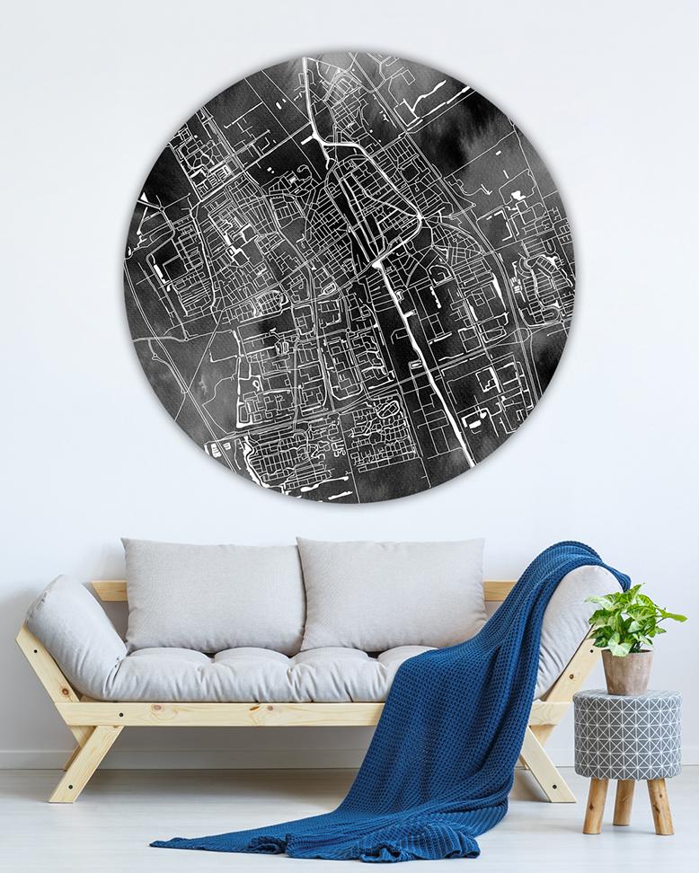 120-11 Delft Clouds Wandcirkel_lr
