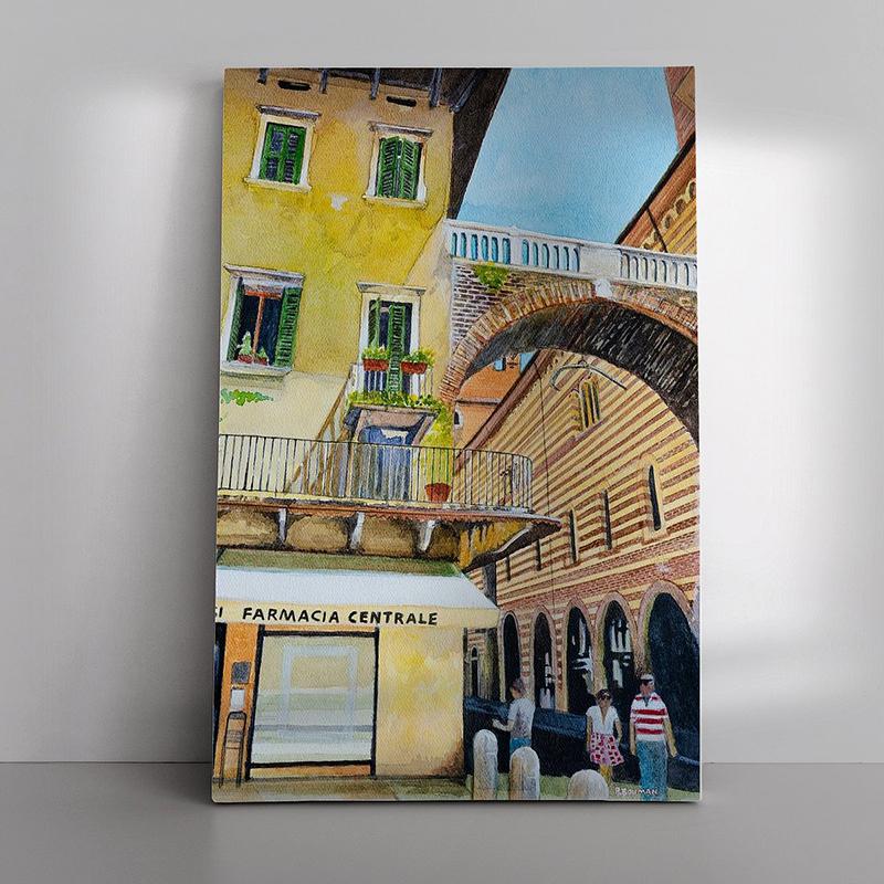 04 Verona als Canvas